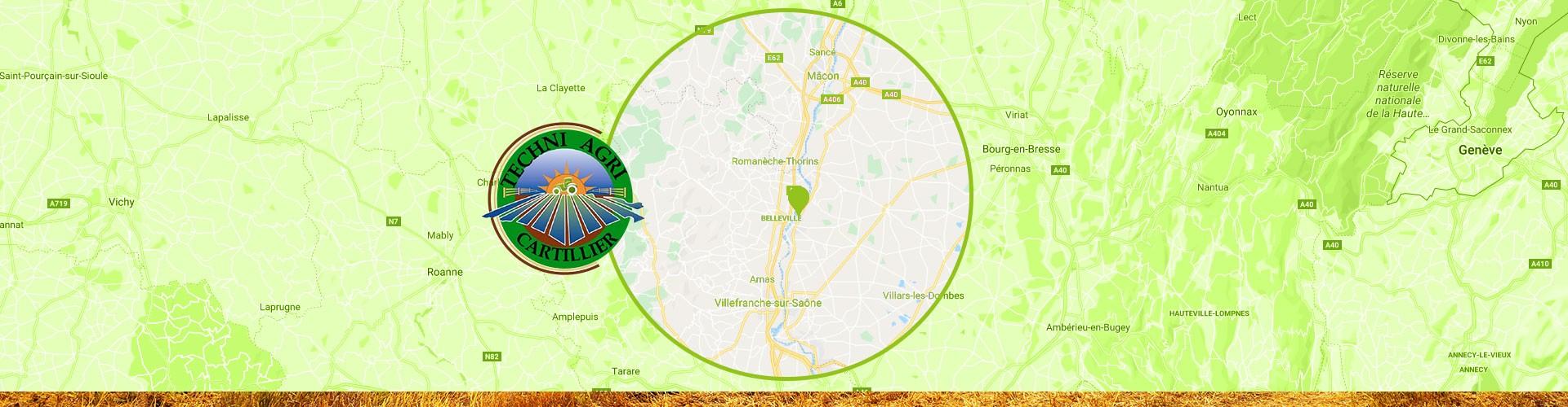 ensilage agricole à Guéreins | Techni Agri Cartillier